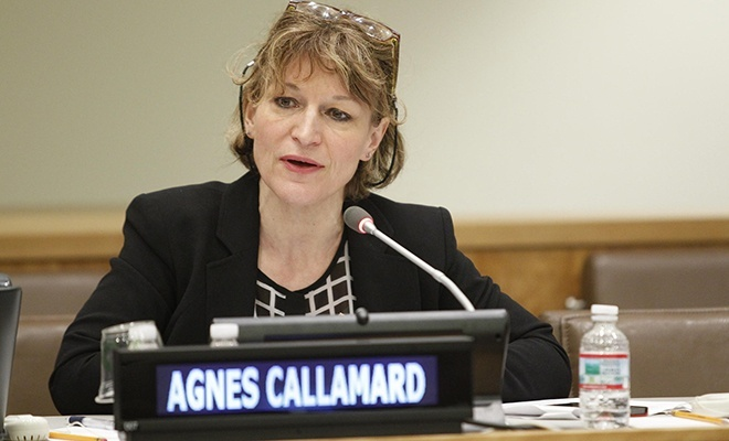 Callamard, BM'nin Kaşıkçı cinayeti raporunu değerlendirdi