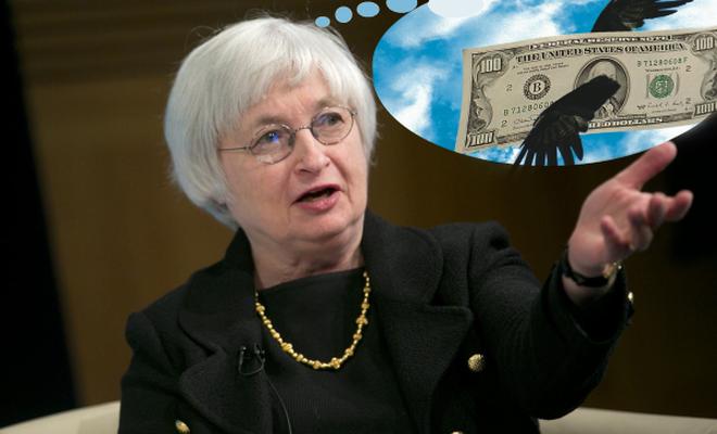 Fed Başkanı konuştu dolar yükseldi