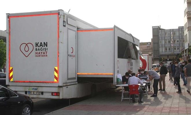 HÜDA PAR Midyat İlçe Teşkilatı'ndan kan bağışı