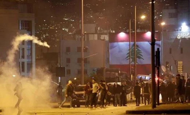 Lübnan'da çatışmalar yaşandı