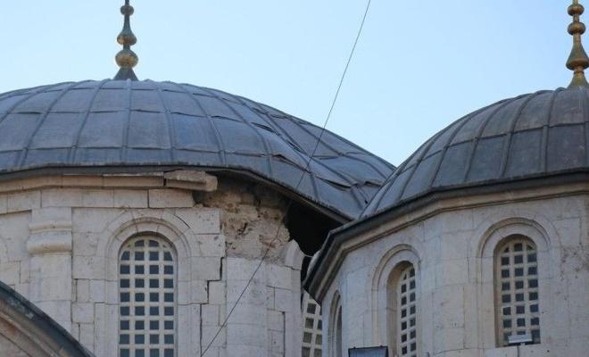Malatya depremde hasar gören tarihi yapılarda bakım çalışmalarına başlandı