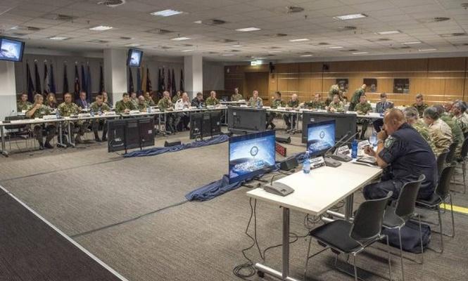 NATO Yöneticileri ve Avrupa`nın Genelkurmay başkanları toplandı