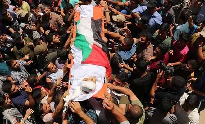 Şehid Filistinli sayısı 35'e yükseldi