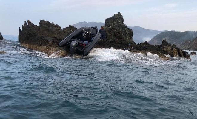 Batan teknedeki 19 düzensiz göçmen kurtarıldı