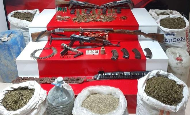 Van'da 124 kilogram uyuşturucu madde ele geçirildi