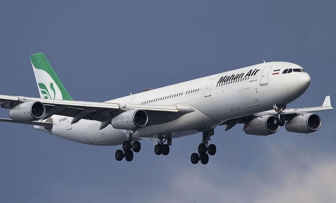 ABD savaş uçakları, Suriye hava sahasında İran yolcu uçağını taciz etti