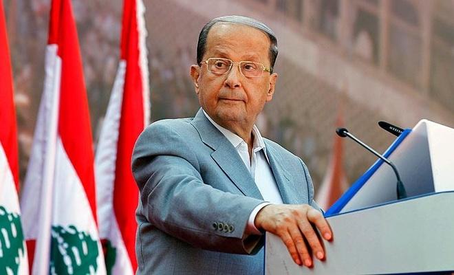 Lübnan Cumhurbaşkanı'ndan Siyonist işgal rejimiyle müzakere açıklaması