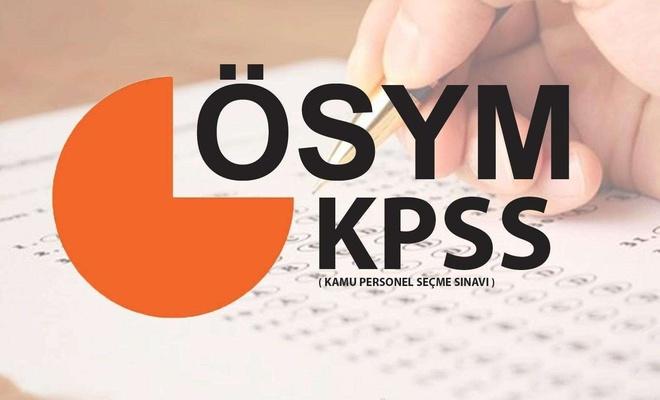 KPSS maratonu başladı