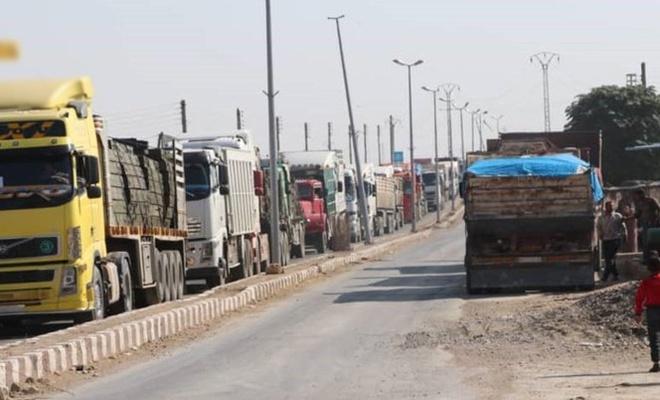 Rusya'dan Suriye'nin kuzeyinde YPG'ye 40 araçlık askeri yardım