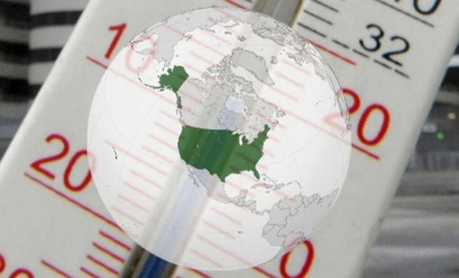 ABD'de kış sıcaklıkları son 50 yılda 4,8 derece arttı