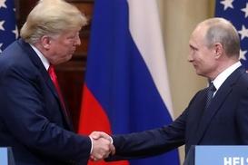 Trump`tan Putin`e davet