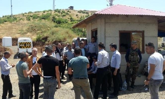 Bingöl HES`te 35 güvenlik görevlisi işten atıldı