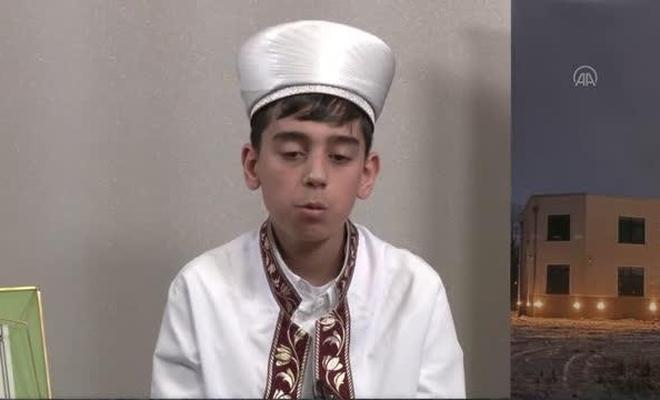 12 yaşında Kur'an-ı Kerim'in tamamını tek seferde okudu