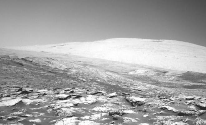 Curiosity aracının çektiği yeni Mars fotoğrafları yayınlandı