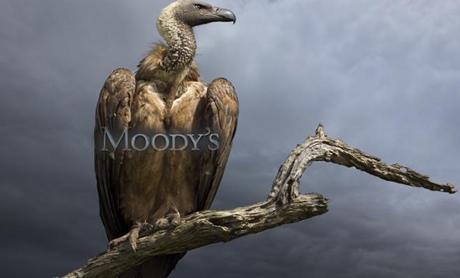 Moody`s akbaba gibi!
