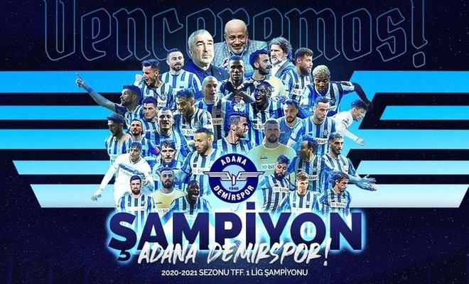 Adana Demirspor ile Giresunspor Süper Lig'e yükseldi