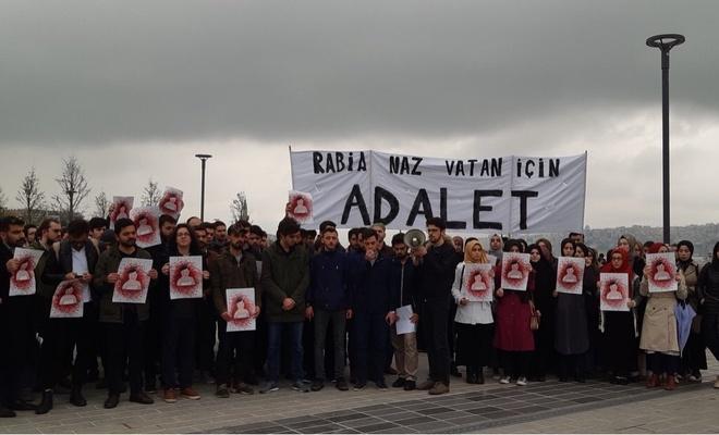 Rabia Naz için basın açıklaması yapıldı