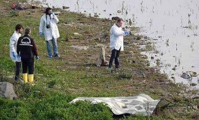 Barajda kız çocuğuna ait ceset bulundu