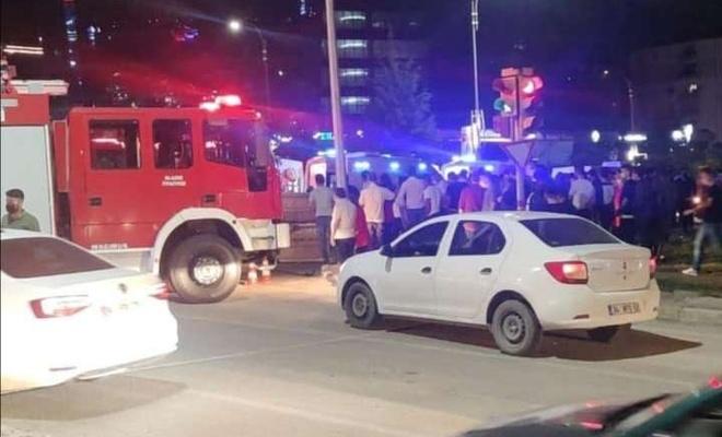 Elâzığ`da meydana gelen trafik kazasında bir kişi yaralandı