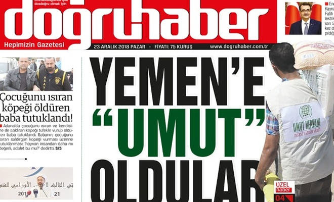 Yemen`e ``umut`` oldular