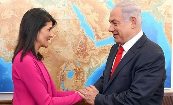 Siyonistler Nikki Haley`in istifasına üzüldü