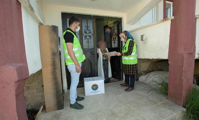 Van'ın İpekyolu Belediyesi'nden ihtiyaç sahiplerine sosyal yardım
