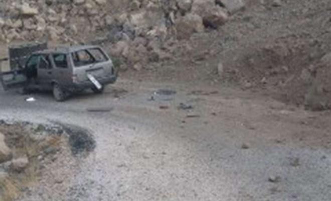 Siirt'te PKK'nin yola döşediği EYP patlatıldı: Bir korucu yaralandı