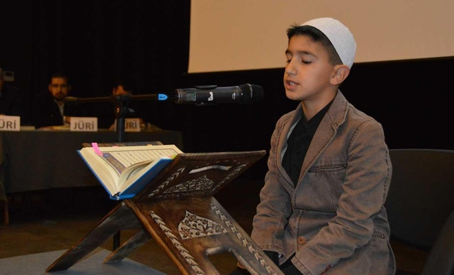Siirt'te Kur'an-ı Kerim yarışmasının finali yapıldı