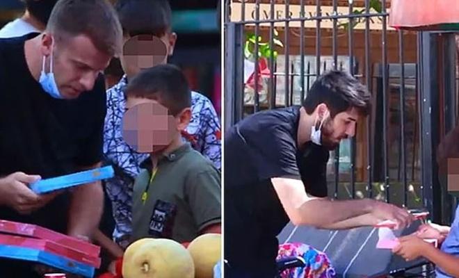Diyarbakır'da çocuklarla  'sosyal deney' yapanlara suç duyurusu