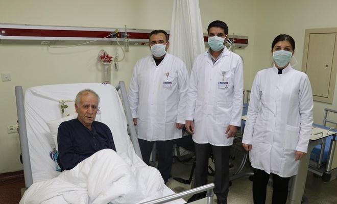 Hastalar manevi destekle moral buluyor