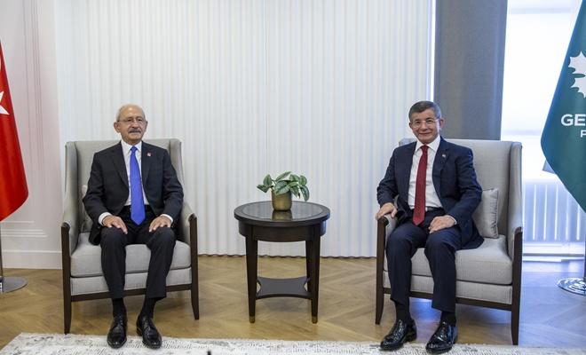 Kılıçdaroğlu'dan Davutoğlu'na ziyaret! İşte detaylar