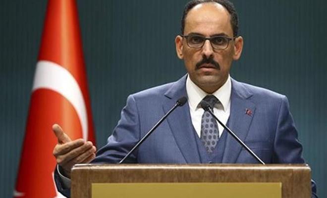 Cumhurbaşkanlığı Sözcüsü Kalın'dan NATO'ya çağrı