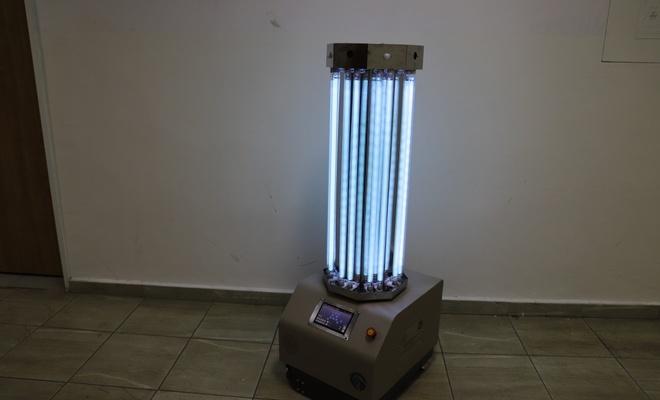 Öğretmenler UV dezenfeksiyon robotu geliştirdiler