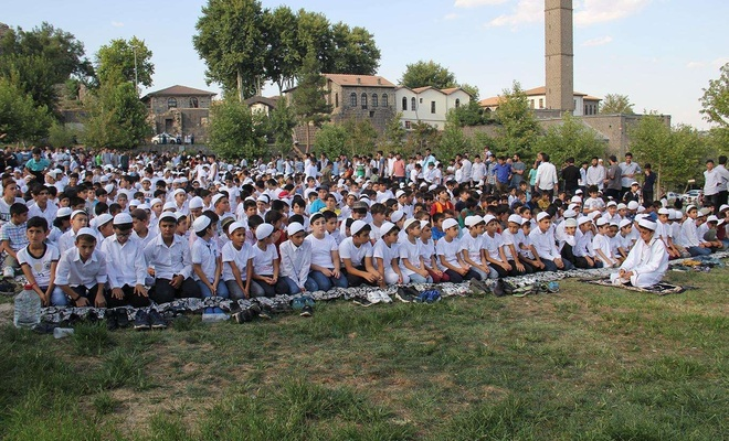 """""""Hayat Namazla Güzeldir"""" etkinliğinin finali bugün Diyarbakır'da"""
