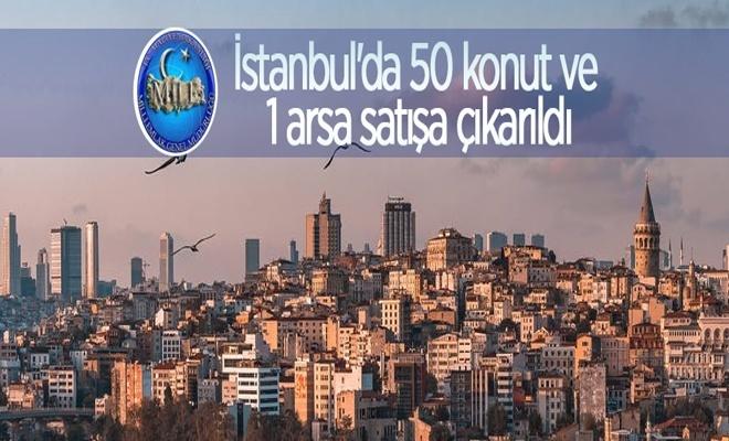 İstanbul'da 50 konut ve 1 arsa satışa çıkardı