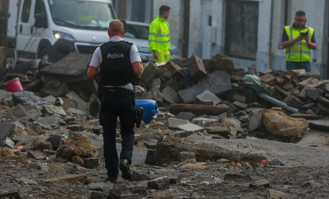 Belçika'yı ikinci kez sel vurdu: Büyük hasar meydana geldi