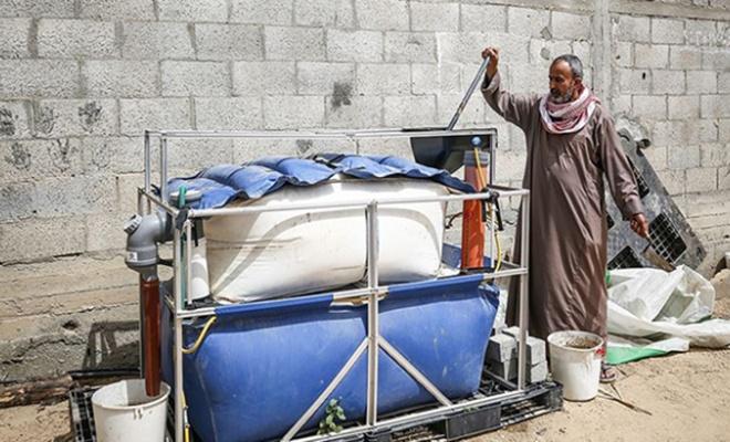 Gazze'de hayvan gübresinden biyogaz üretimi!