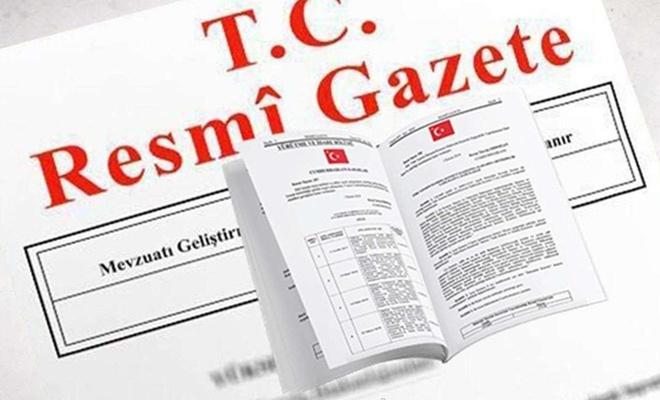 Ceza infaz kanununda yapılan değişiklik Resmi Gazete'de yayımlandı