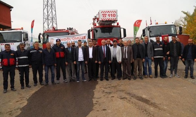 Bingöl Belediyesi araç filosunu genişletiyor