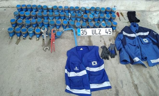 Su sayaçlarını çaldığı iddia edilen İZSU çalışanı tutuklandı