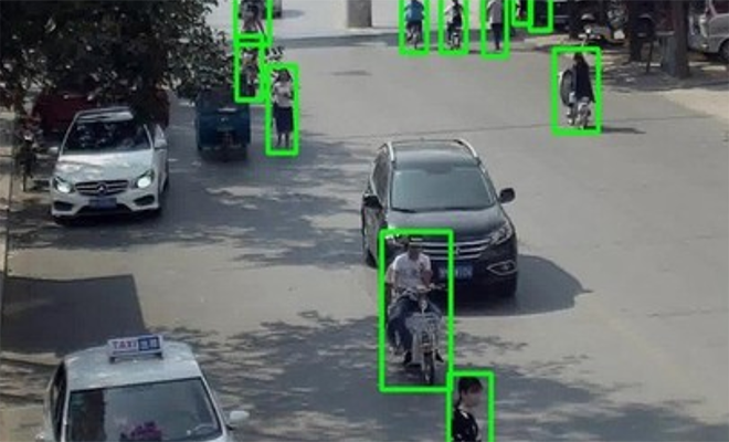 Ruslardan insanları silüetinden teşhis eden kamera