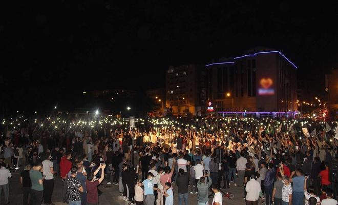 Diyarbakır 3'üncü günde de Mescid-i Aksa için meydanları doldurdu