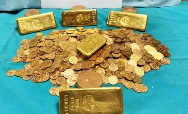 Eşyalarıyla birlikte satın aldıkları evden yaklaşık 15 kg altın çıktı