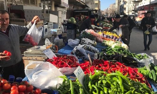 Sebze meyve fiyatları arttı