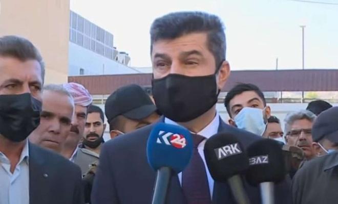 """Duhok Valisi Teter: """"PKK'lilerin Kürtlüklerinden şüphe ediyorum"""""""