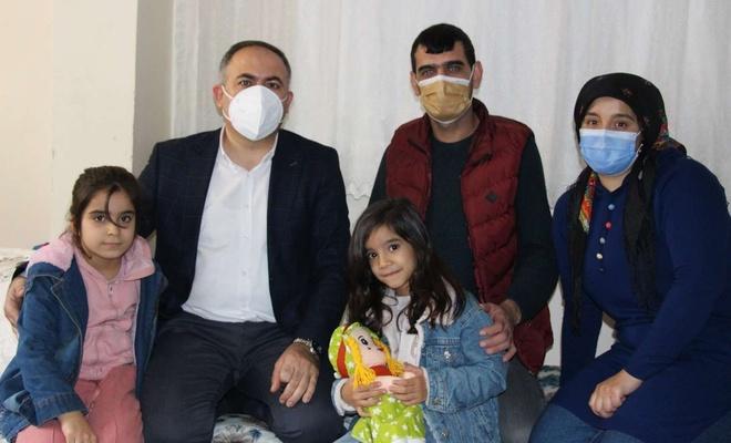 HÜDA PAR İstanbul İl Başkanlığı engelli vatandaşları ziyaret etti