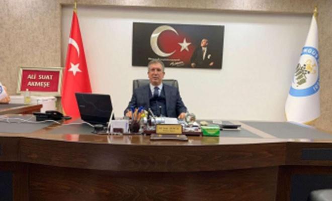 Çüngüş Belediye Başkanı Akmeşe partisinden istifa etti