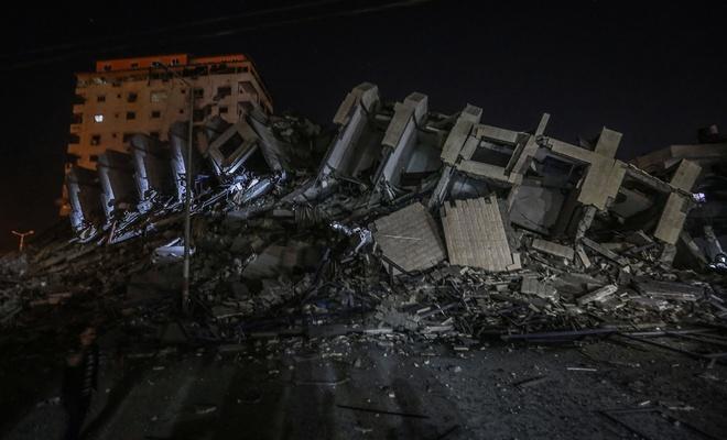 İşgal çetesi apartmanı bombaladı!