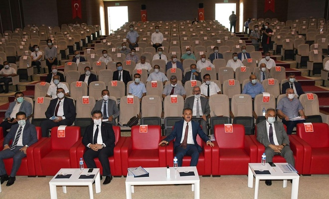 Adıyaman'da İl Koordinasyon Kurulu toplantısı yapıldı