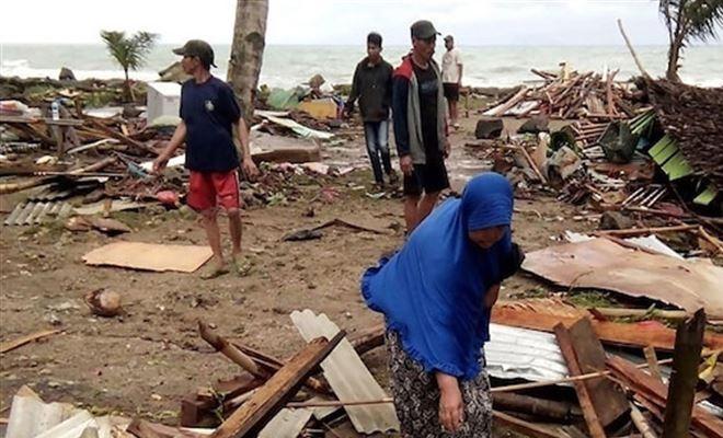 Endonezya'da 7,1'lik deprem sonrası tsunami uyarısı yapıldı